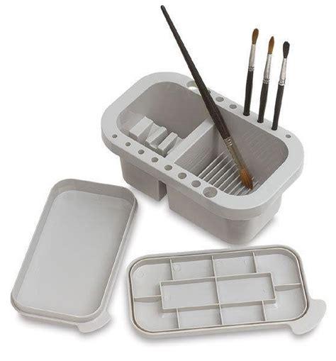 acrylic paint brush cleaning paint brush cleaner tub paint saver palette artist