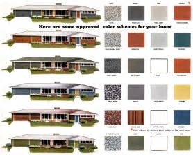 Paint colors for ranch homes these approved mid century paint color