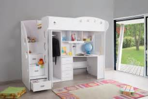 combi lit combin 233 lit mezzanine chambre enfant
