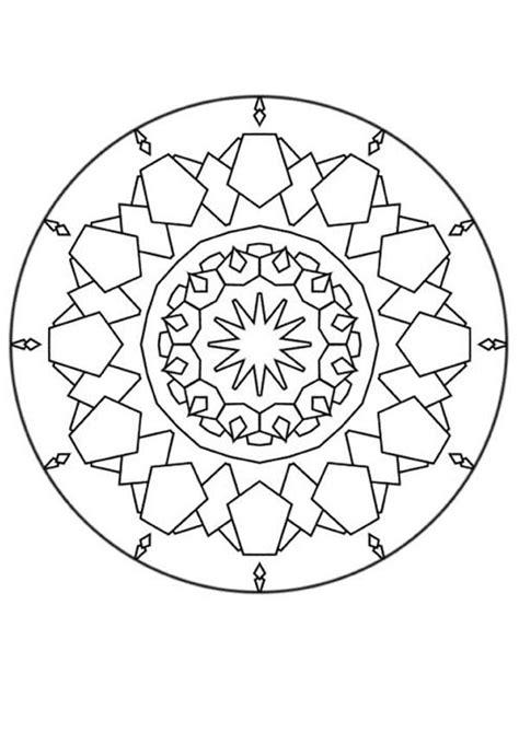 www mandala desenhos para colorir de mandala com formas diferentes