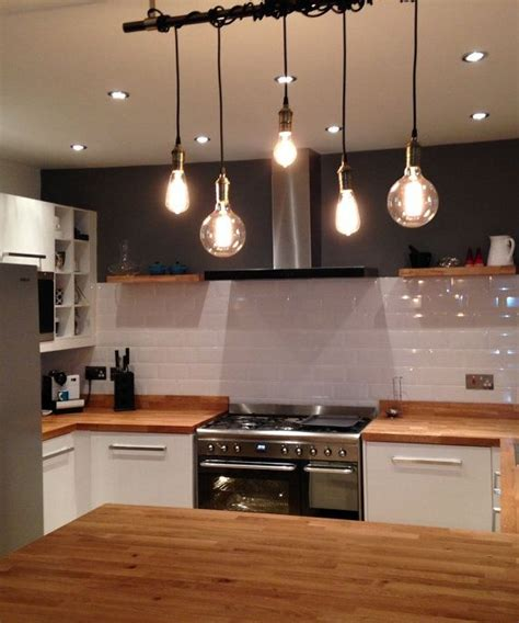 hanging lights over kitchen bar 25 best ideas about industrial pendant lights on