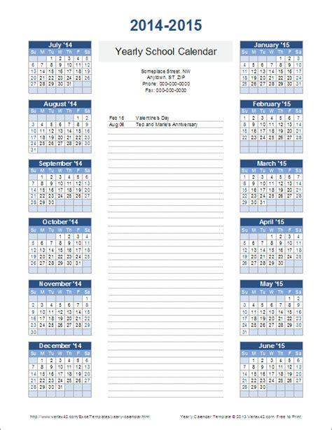 printable school year calendar 2018 2019 teacher pay teachers