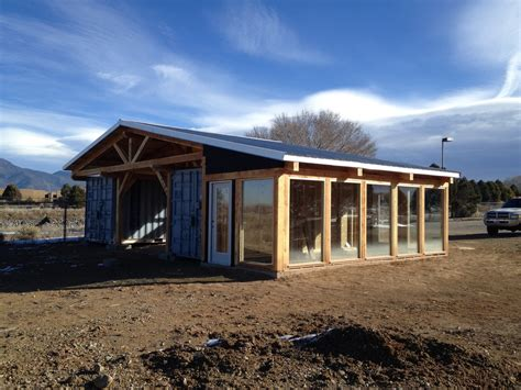 Shipping Container Home Interiors by Shipping Container Woodshop Southwest Sustainable Builders