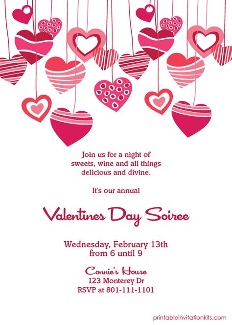 valentines invitation blueshiftfiles free printable s day invitation