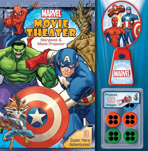 heroes storybook bible books marvel theater storybook projector book by