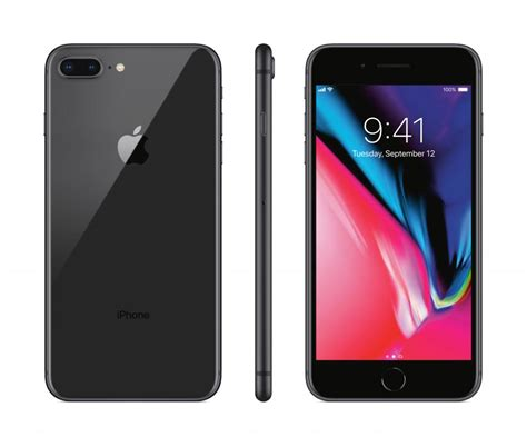 apple iphone 8 plus 64gb space gray sprint or boost mobile new 190198456274 ebay