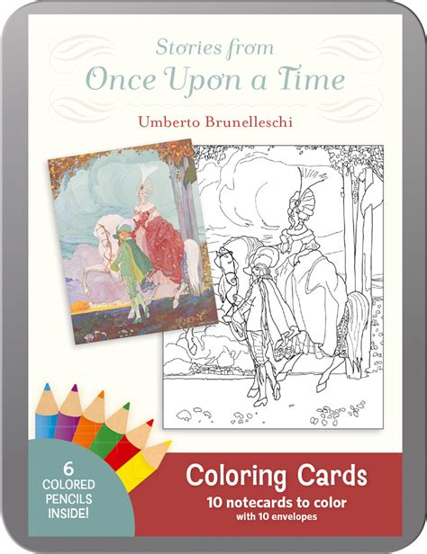 once upon a time coloring book books umberto brunelleschi stories from once upon a time