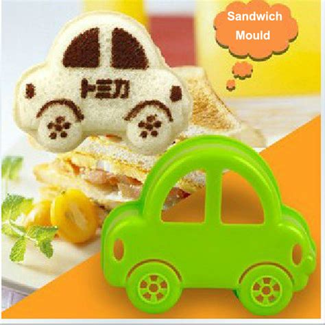 Bento Mini Car Rice Limited toast bread sandwich mold baby rice dumpling mould car