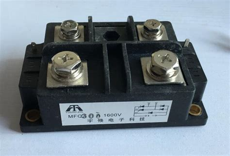silicon controlled module diode bridge rectifier silicon controlled module diode bridge rectifier mfq300a 1600v 68 110 40mm in generator parts