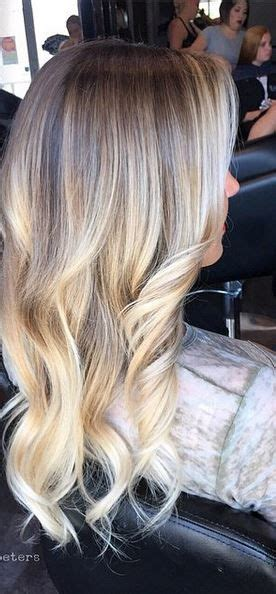 blonde hair dark root ictures buttery blonde highlights blended perfectly with clients