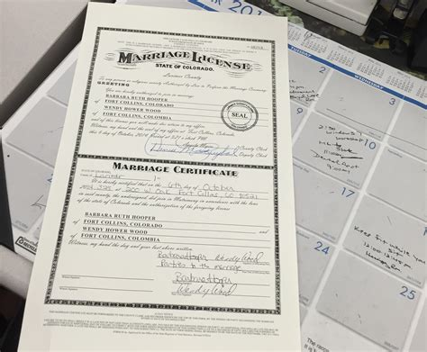 Colorado Marriage Records Denver Colorado County Clerk Records