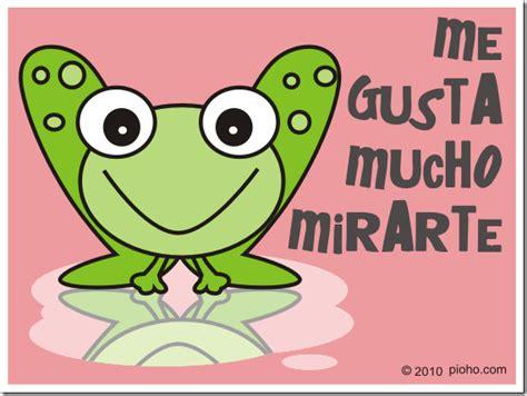 imagenes de ranas animadas de amor ranitas con frases amorosas imagui