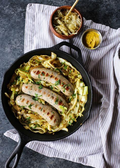 bratwurst and cabbage cabbage bratwurst