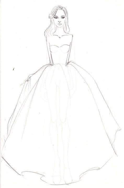 fashion sketching  easy  minute fashion sketches
