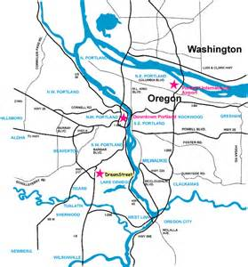 Portland Metro Area Map by Opinions On Portland Metropolitan Area