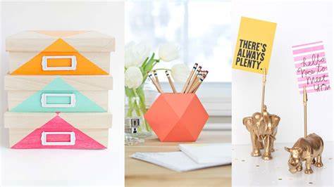 40 diys for your desk diy projects for