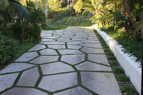 types of paving material with a grass divider by sc driveway ideas image search