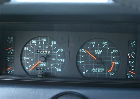 qotd what s your favorite instrument panel from the great 80s
