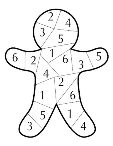 printable gingerbread man game kinzie s kreations gingerbread dice game