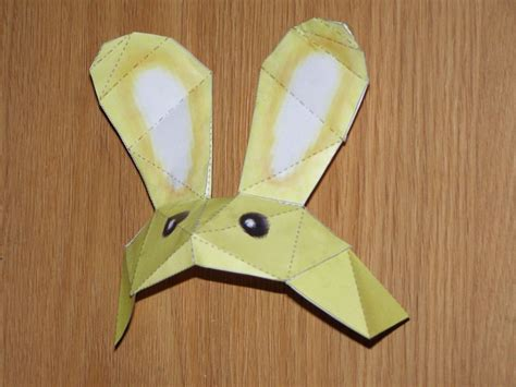 Paper Craft Rabbit - bunny papercraft by sunagirl on deviantart