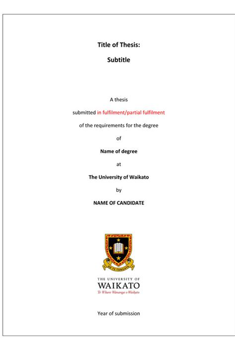 dissertation for masters degree 28 master degree dissertation masters title page