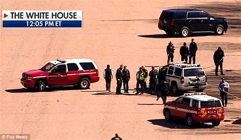 shots fired at the white house man shoots himself outside white house north lawn daily mail online