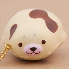 Aninal Bun Punimaru pink mochi seal animal scented squishy by puni