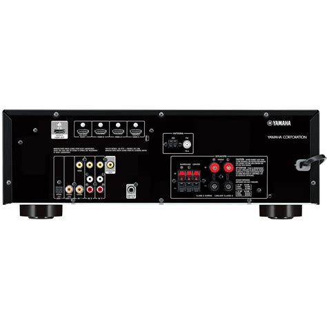 yamaha rx   channel home theater receiver  watts