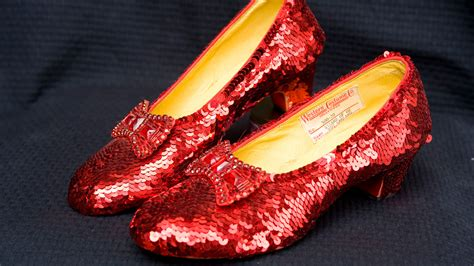 wizard of oz slippers wizard of oz ruby slippers to display at costume designers guild awards pret a reporter