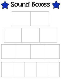 elkonin boxes template teaching ela phonics on phonics word