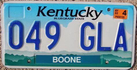 kentucky license plates for sale and trade and display at