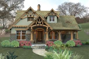 craftsman home plan storybook cottage style time to build