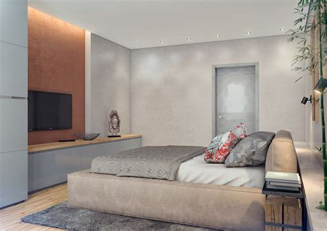 inspired bedroom two lovely apartments featuring wood paneling