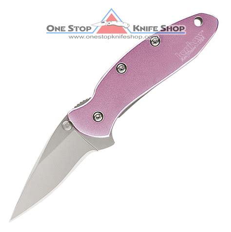 pink kershaw knife kershaw 1600pink chive pink