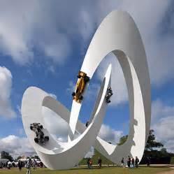 Lotus Sculpture Wordlesstech Lotus Sculpture At Goodwood Festival