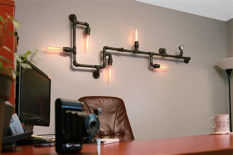 diy home lighting design 20 savvy handmade industrial decor ideas you can diy for