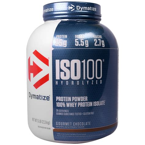 dymatize nutrition iso100 hydrolyzed 100 whey protein