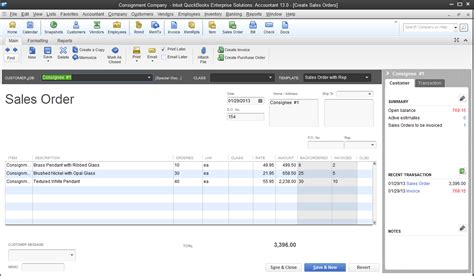 quickbooks sales order template how to record sales on consignment in quickbooks part 2