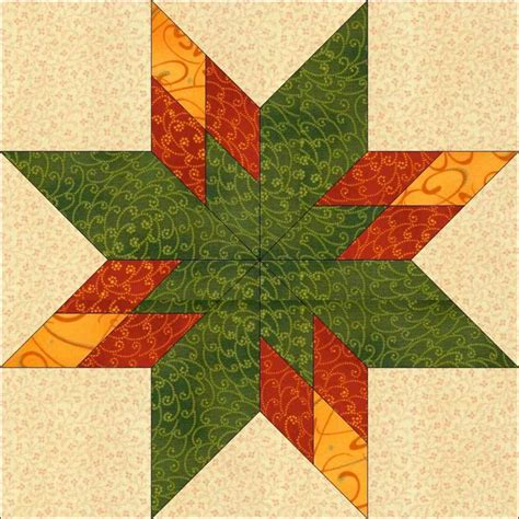 Star Block Pattern 12 Inch Block by QuiltingbyJacqu   Craftsy