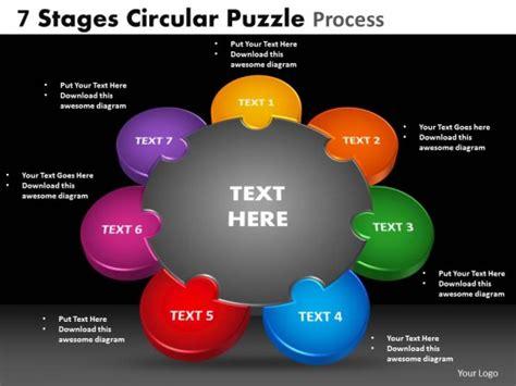 free powerpoint templates teamwork powerpoint template teamwork circular puzzle process