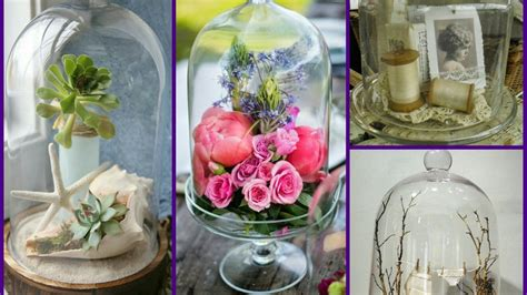 cloche decorating ideas bell jar home decor ideas youtube
