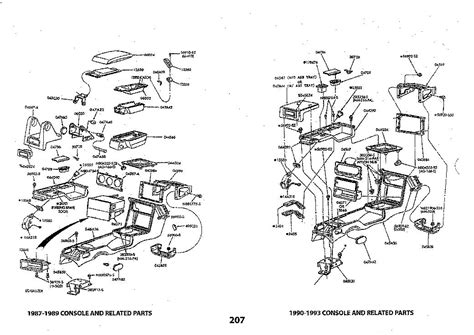 mustang parts diagram 1979 93 ford mustang fox exploded view illustrated manual