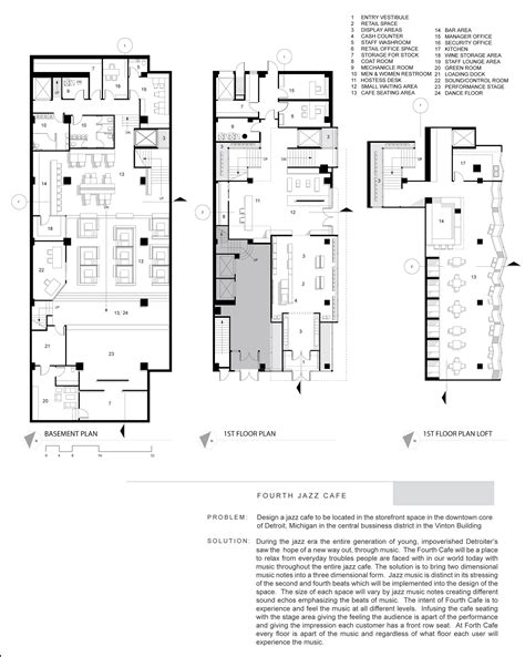 cafe floor plan cafe floor plans over 5000 house plans