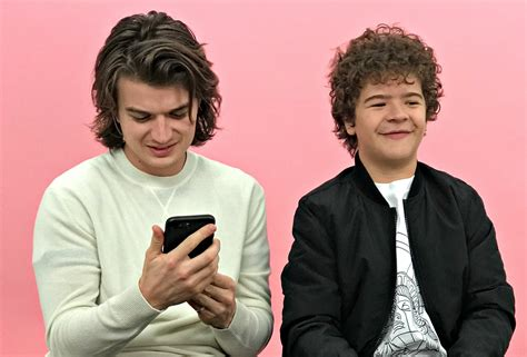 watch stranger things star joe keery s new ferris bueller watch stranger things stars joe keery and gaten
