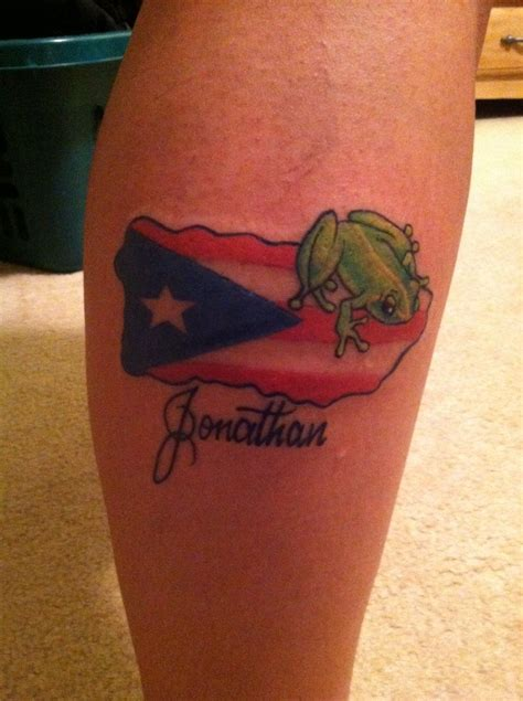 tattoos of puerto rican designs flag tat flag tattoos
