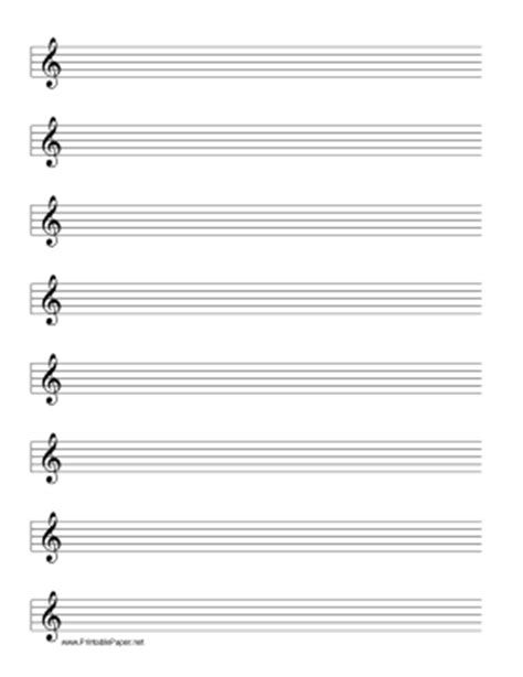 blank treble clef staff paper templates franklinfire co