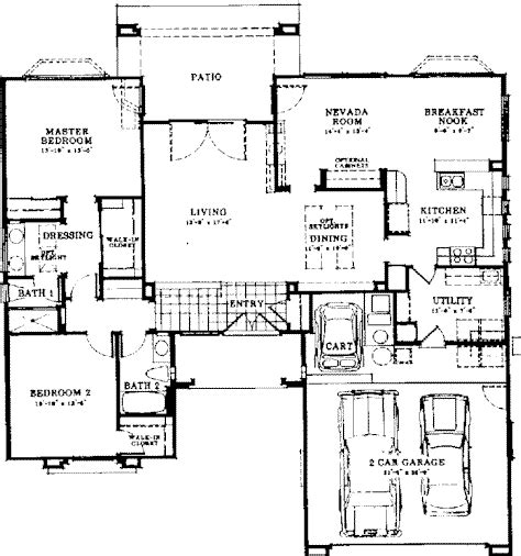 sun city summerlin floor plans sun city summerlin floor plans minden