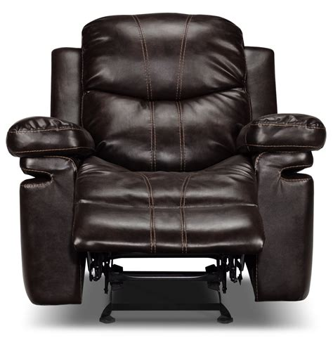 Rocker Recliners With Heat And by Furniture Padded Angle Arm And Fully Padded Chaise With