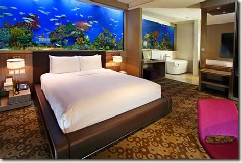 Hotels With Aquariums In The Room by The New H2o Hotel With A Aquarium In Every Room