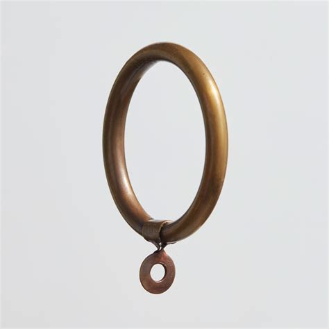 32mm curtain pole rings for 32mm curtain pole antique satin brass